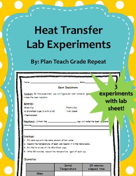 Heat Transfer Lab Experiments