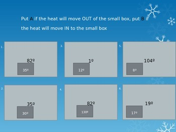 Heat Transfer Openers/Formative Assessments