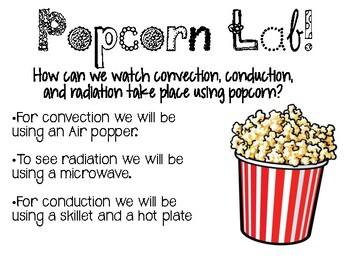 Heat Transfer Popcorn Lab