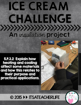 Heat Transfer Project: Ice Cream Challenge (An Insulation Project)