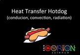 Heat Transfer Hotdog (convection, conduction & radiation assessment activity)