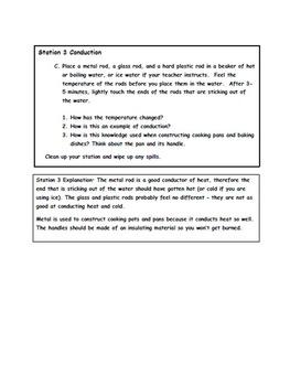 Heat Transfer - Quick Demonstrations of Heat Transfer