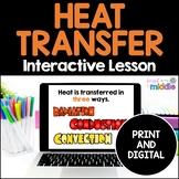 Heat Transfer: Radiation, Conduction, Convection Digital Interactive Lesson