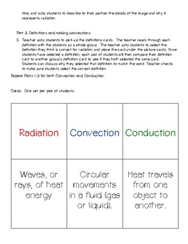Heat Transfer: Radiation, Convection, & Conduction