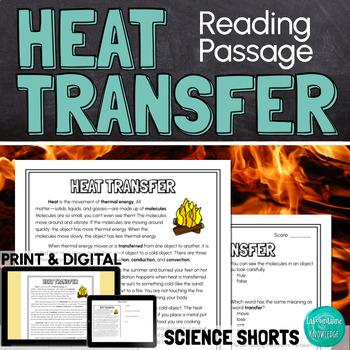 Heat Transfer Reading Comprehension Passage