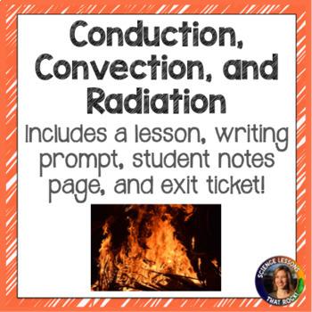 Conduction, convection, radiation SMART presentation (Middle School version)