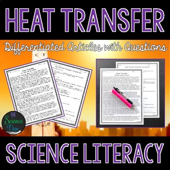 Heat Transfer - Science Literacy Article