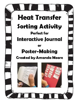 Heat Transfer Sorting Activity for Interactive Science Journals