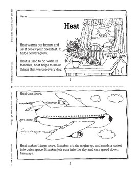 Heat Travels from Warm Objects to Cold Ones