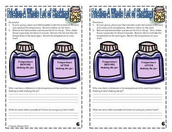Heat Unit-Interactive Notebook Experiments and Activities