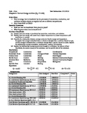 Physics - Chapter 6 Heat Unit Study Guide