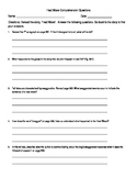 Heat Wave Comprehension Questions