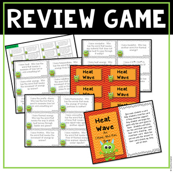 Heat Wave - Supplemental Activities and Games for your Heat unit