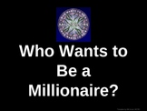 Heat Wave Who Wants to be a Millionaire Game