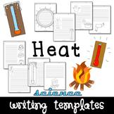 Heat & Temperature Science Writing Paper Set