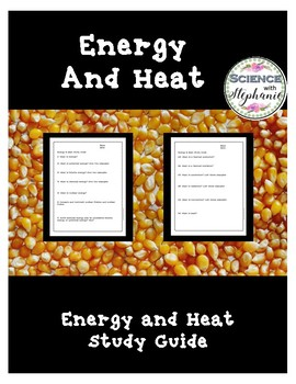 Heat and Energy Study Guide