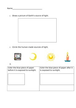 Heat and Energy Test