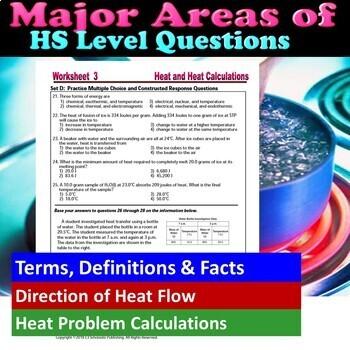 Thermal Energy Heat Flow Heat Calculations Essential Skills