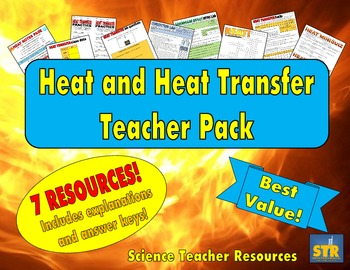 Heat and Heat Transfer Teacher Pack!