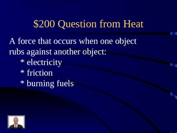 Heat and Magnet Jeopardy Powerpoint Review CRCT Game