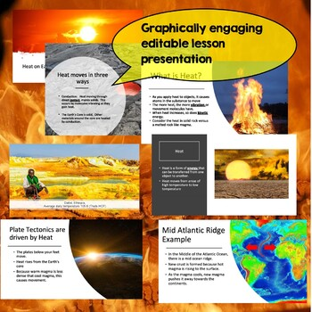 Heat and Plate Tectonics for Middle School