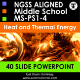 Middle School NGSS Thermal Energy MS-PS1-4 Aligned Powerpoint