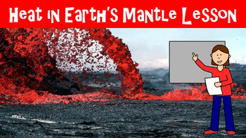 The Earth's Mantle No Prep Lesson w/ Power Point, Worksheet and Word Search