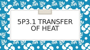 Heat transfer review or mini lesson