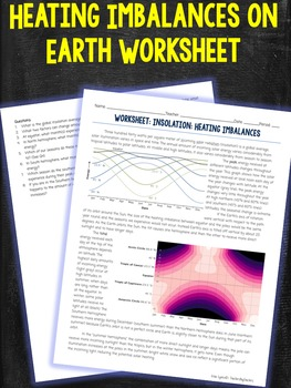 Seasons and Insolation Worksheet