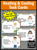 Heating and Cooling Change the State of Matter Task Cards, Science Games SCOOT