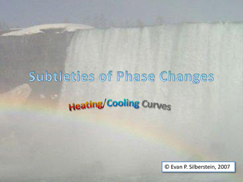 Heating/Cooling Curve