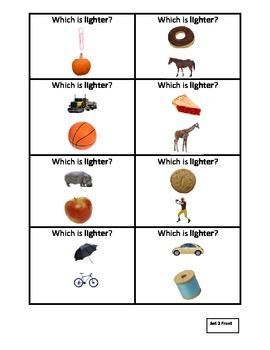 Heavier or Lighter Quiz Quiz Trade