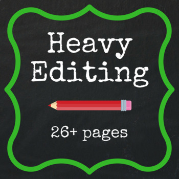 Heavy Editing - 26+ pages FREE QUOTE