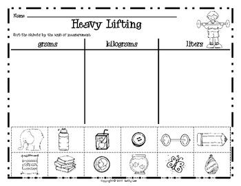 Heavy Lifting -- Mass/Volume Game