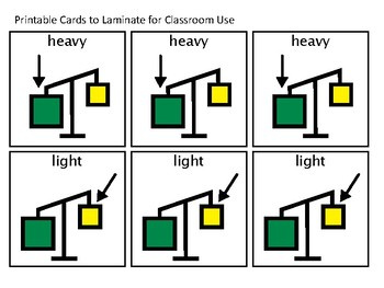 Heavy Versus Light Comparisons