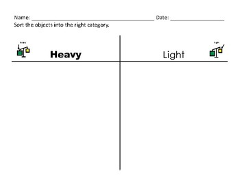 Heavy Versus Light Comparisons