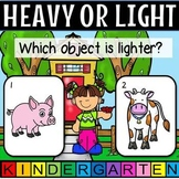 Heavy or light distance learning google slides