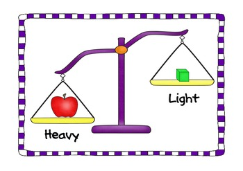 Heavy Or Light Comparing Weight By Jaana Gray Tpt