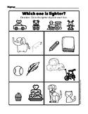 Heavy or Light (Kindergarten Math)