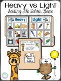Heavy vs Light Objects Sorting File Folder Game & Cut and