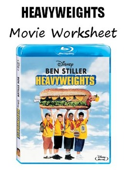Heavyweights Movie Worksheet (Teen and Adult ESL)