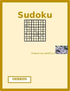 Hebben Dutch verb Sudoku
