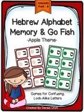 Aleph Bet/ Aleph Beis Hebrew Look-Alike Letters - Memory &