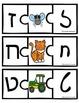 Hebrew Alphabet puzzles. Hebrew alef bet.