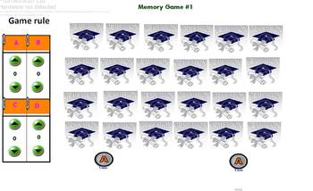 Hebrew End of the year memory game #1