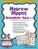 "Hebrew Hippos Shorashim (Roots) Activities - Parshat Vayishlach L""G"