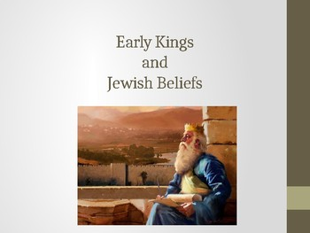 Hebrew Kings and Text