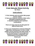 Hebrew Kriah Letter Nekudah Blend dress-up activity printable