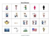 Hebrew Memory Cards game - basic vocabulary