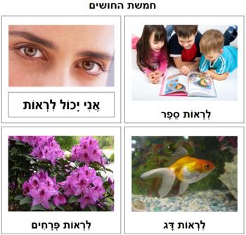Hebrew - The Five Senses